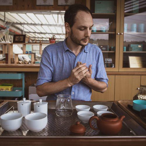 Ludovic, fondateur de Tea Project