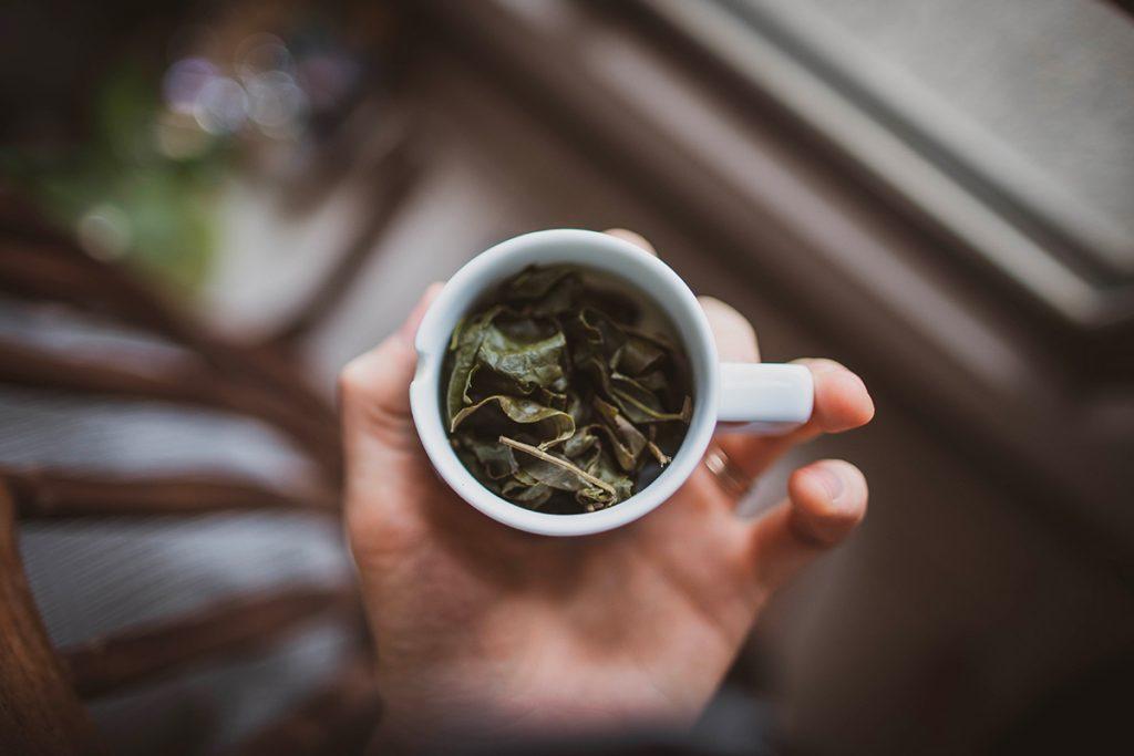 Une tasse de thé de dégustation à Taïwan